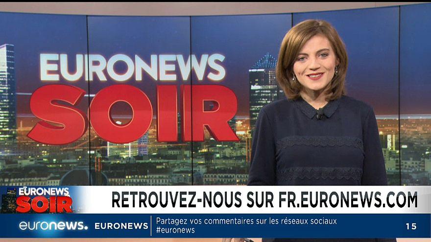 Euronews Soir, l'actualité du mardi 20 novembre
