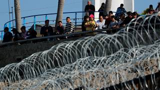 Lethal force can be used at Mexico border, Trump says