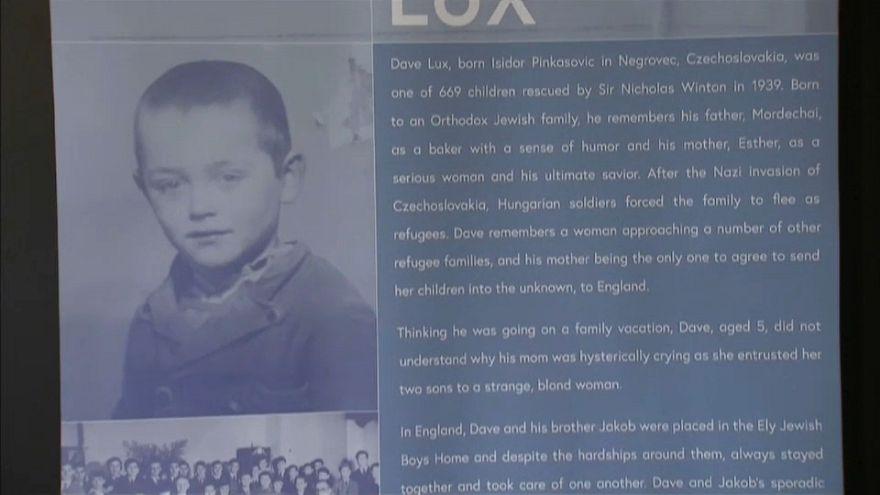 London erinnert an jüdische Kindertransporte