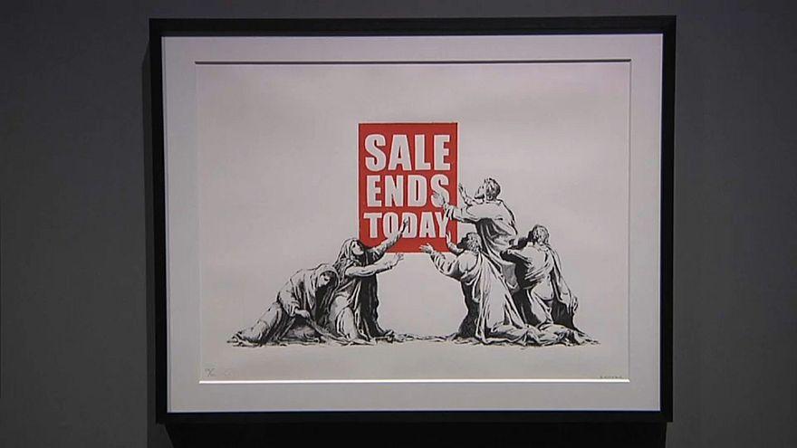 Banksy Ausstellung in Mailand - Ohne Banksy