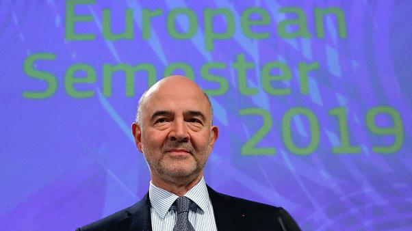 European Commissioner for Economic and Financial Affairs Pierre Moscovici