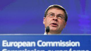 Ο αντιπρόεδρος της Ευρωπαϊκής Επιτροπής Βάλντις Ντομπρόφσκις
