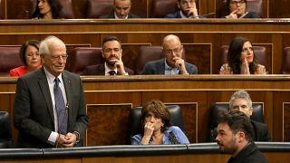 [Vídeo] Josep Borrell asegura haber recibido un escupitajo en el Congreso