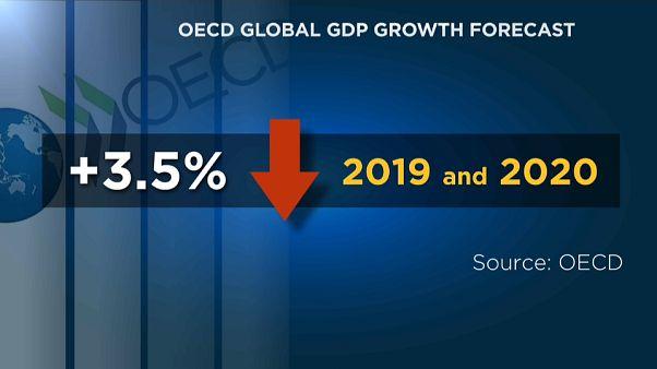 OECD: Wachstum auf dem absteigenden Ast