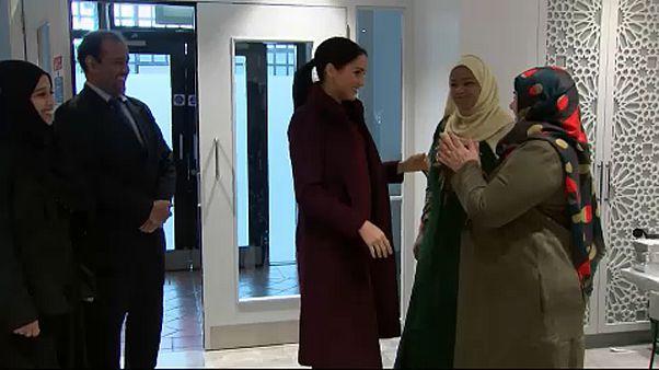 "Herzogin Meghan besucht ""Hubb Community Kitchen"" in London"