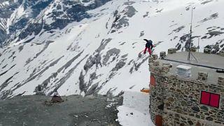 Ski freestyle : quand Bene Mayr dompte le Stelvio