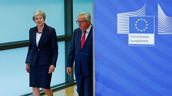 روزهای پرمشغله اروپا و بریتانیا؛ ترزا می برای مذاکرات برکسیت به بروکسل بازمیگردد