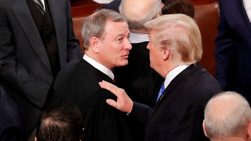 رئیس دیوان عالی آمریکا خطاب به ترامپ: قاضی اوباما و قاضی ترامپ نداریم