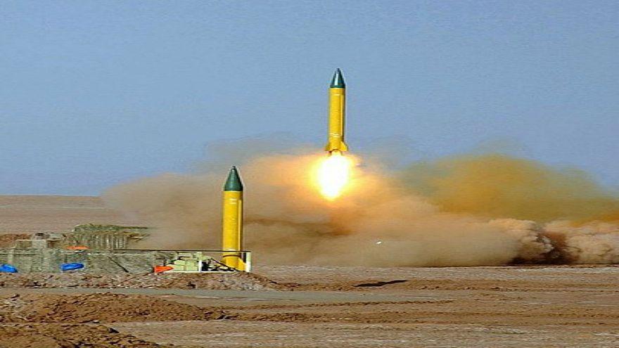 صاروخ شهاب- 3 الباليستي في مناورات الرسول الأعظم