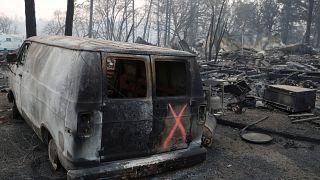 Kaliforniya'daki yangın eyalet tarihinin en ölümcüm yangını oldu