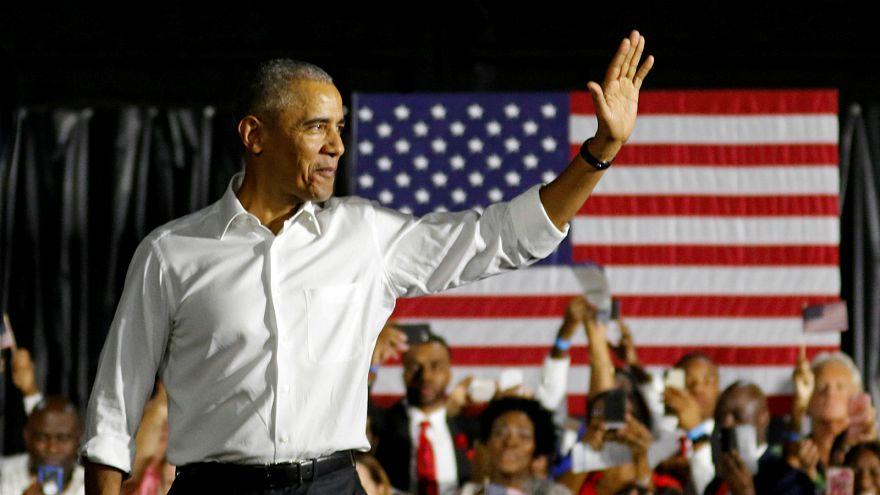 قبيل عيد الشكر.. أوباما يجمع الغذاء للفقراء وترامب يلعب الغولف مع الأغنياء