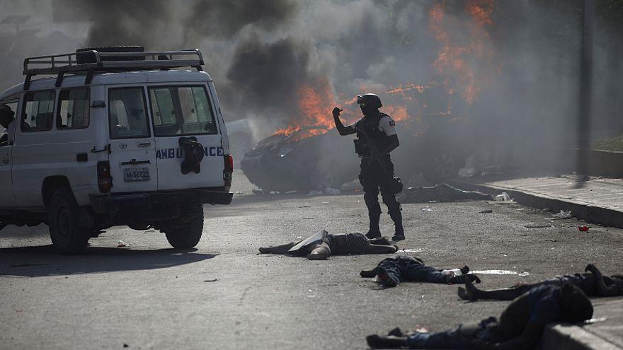 Haïti : graves incidents  et plusieurs morts dans les manifestations
