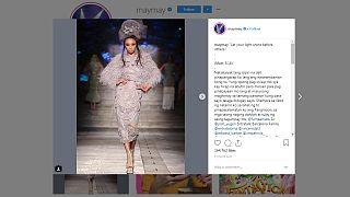 عارضة الأزياء الفليبينية مايماي - صورة من حسابها الشخصي على إنستاغرام
