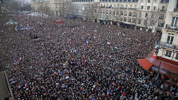 Paris el 11 de enero de 2015