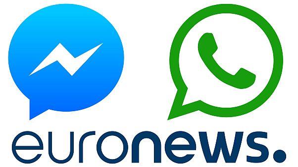 Suivez Euronews sur WhatsApp et Messenger