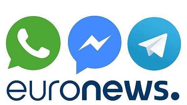 Suivez Euronews sur WhatsApp, Messenger et Telegram