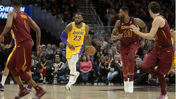 LeBron James regressou como herói a Cleveland e saiu MVP