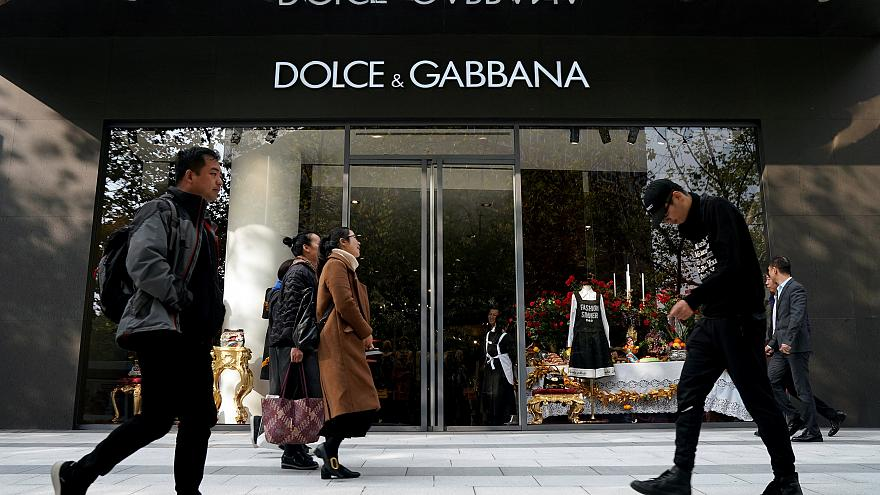 China boicotea los productos de Dolce & Gabbana