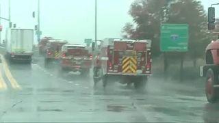 Llega la lluvia a California
