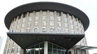 ساختمان سازمان منع سلاحهای شیمیایی در شهر لاهه هلند