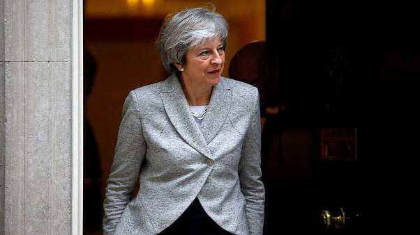 """May dice que el acuerdo con la UE creará una nueva """"área de libre comercio"""""""