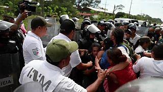 Messico: arresti di massa di migranti al confine