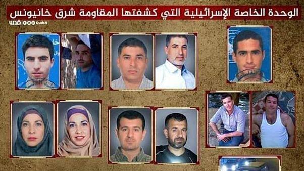 حماس تنشر صور عناصر القوة الإسرائيلية التي تسللت إلى قطاع غزة وتقيم حواجز على الطرقات