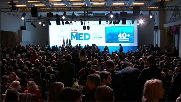Mattarella inaugura a Roma il MED 2018