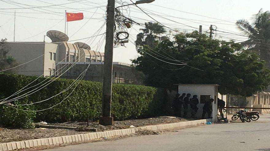 حمله به کنسولگری چین در شهر کراچی دستکم دو کشته بر جای گذاشت