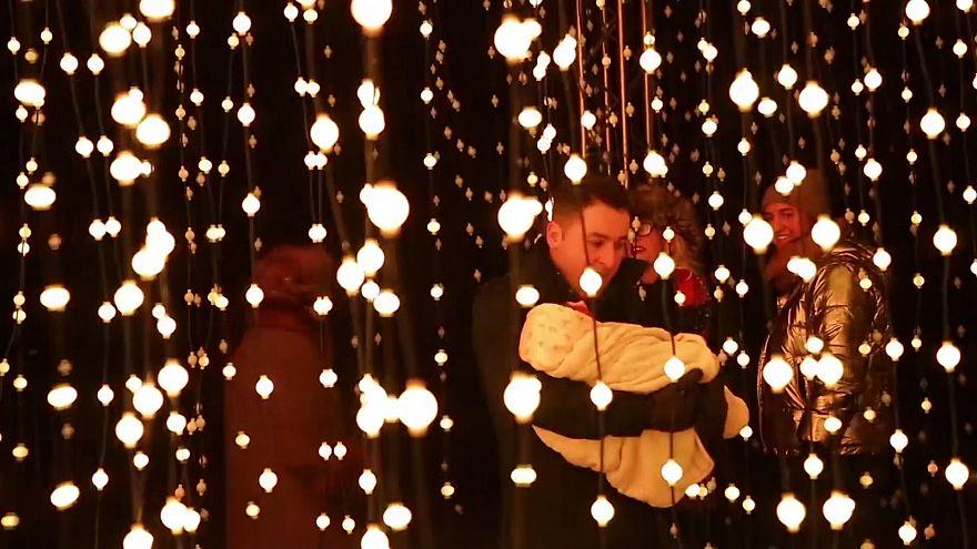 Angleterre : toute la magie de Noël à Kew Gardens