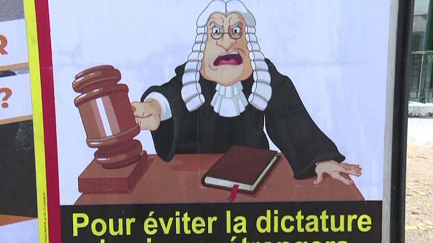 Droit international : les Suisses votent