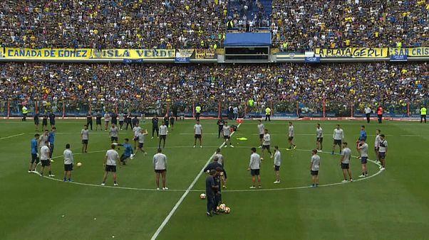پنجاه هزار هوادار پرشور در بی سابقه ترین جلسه تمرینی یک تیم فوتبال