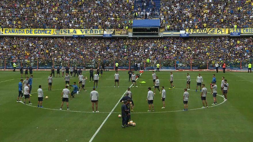 50 ezer szurkoló a Boca edzésén