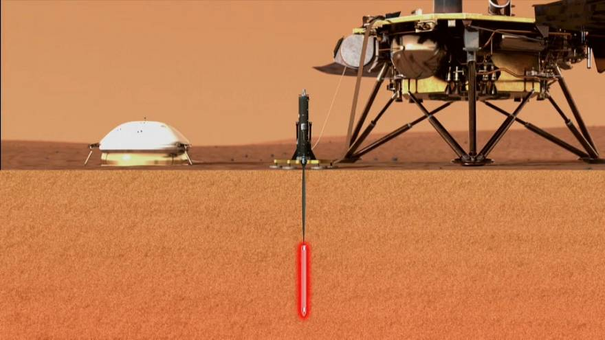 """Миссия на Марс: InSight изучит недра """"красной планеты"""""""