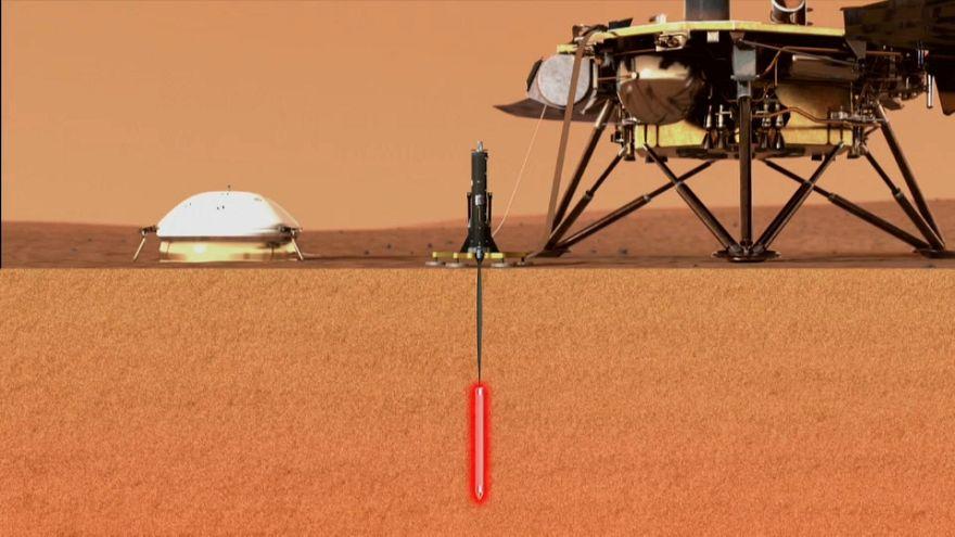 La mission Insight permettra de connaître les profondeurs de Mars.