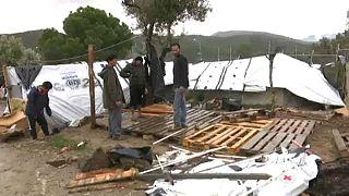 کمپ موریا؛ وضعیت زندگی مهاجران در بزرگترین اردوگاه یونان بدتر شده است