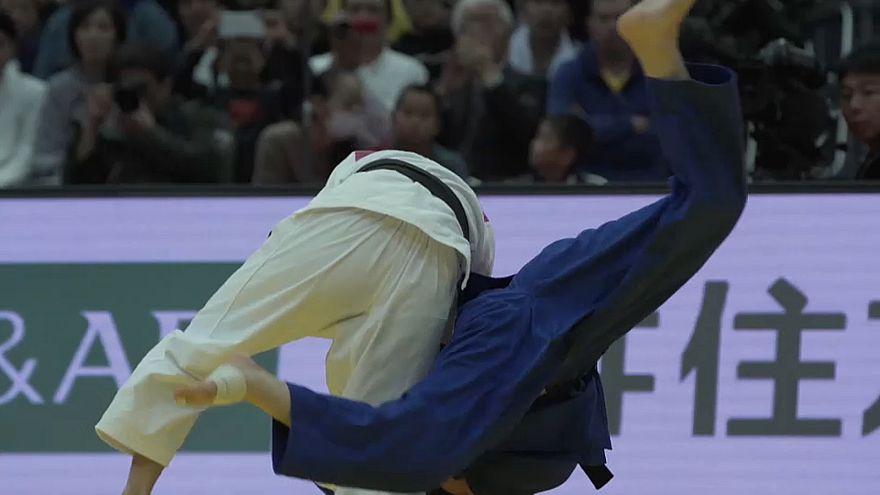 Grand Slam de Judo de Osaka: portuguesa Maria Siderot terminou na sétima posição em -48kg