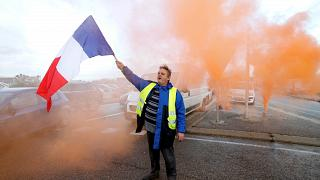 Yellow Vest protesters take the streets of France to fight gas hikes