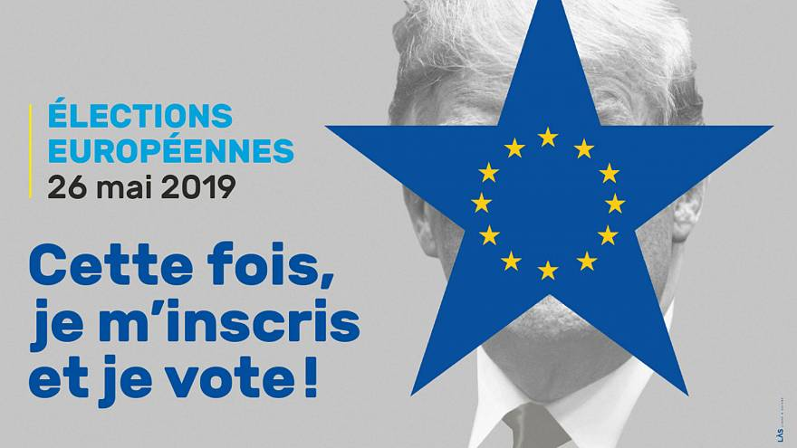 European elections 2019: Strasbourg uses Donald Trump to motivate voters