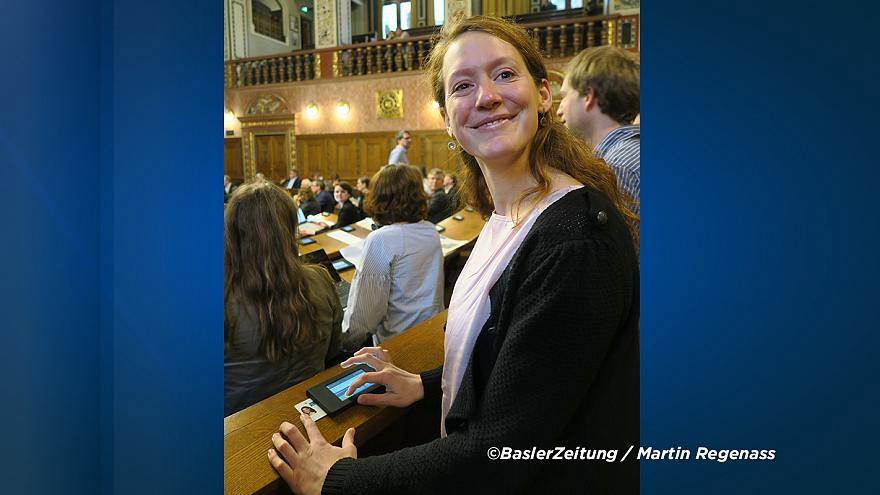 Swiss councillor barred from vote after nursing baby outside chamber