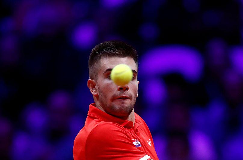 Finale Davis Cup, Coric straccia Chardy: Croazia avanti 1-0 sulla Francia