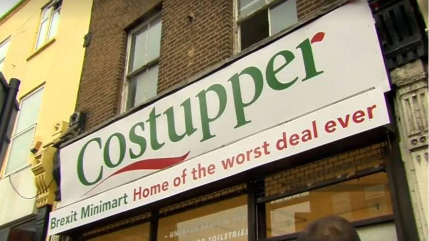 Brexit pop-up shop offers Londoners 'worst deal ever'