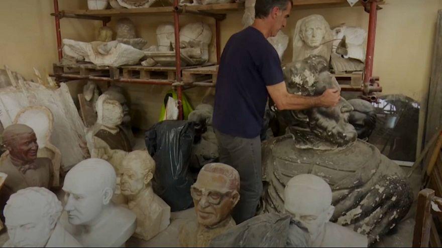 بیمارستان مجسمههای آسیب دیده در آرژانتین