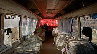 خانههای اتوبوسی برای بیخانمانها در روسیه