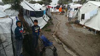 Inside Moria: Euronews takes you around Greece's biggest refugee camp