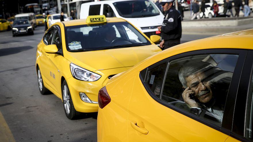 Video | Bitmek bilmeyen gerilim: Sarı taksi mi Uber mi?
