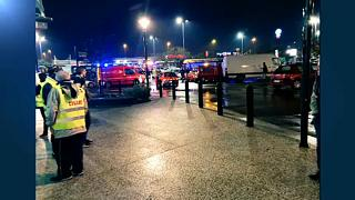 France: man armed with explosives in custody