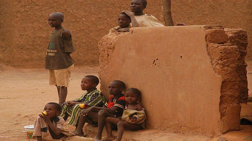أطفال من بلدة تهوا في النيجر