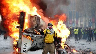 """""""Yellow Vest"""" protest in Paris"""