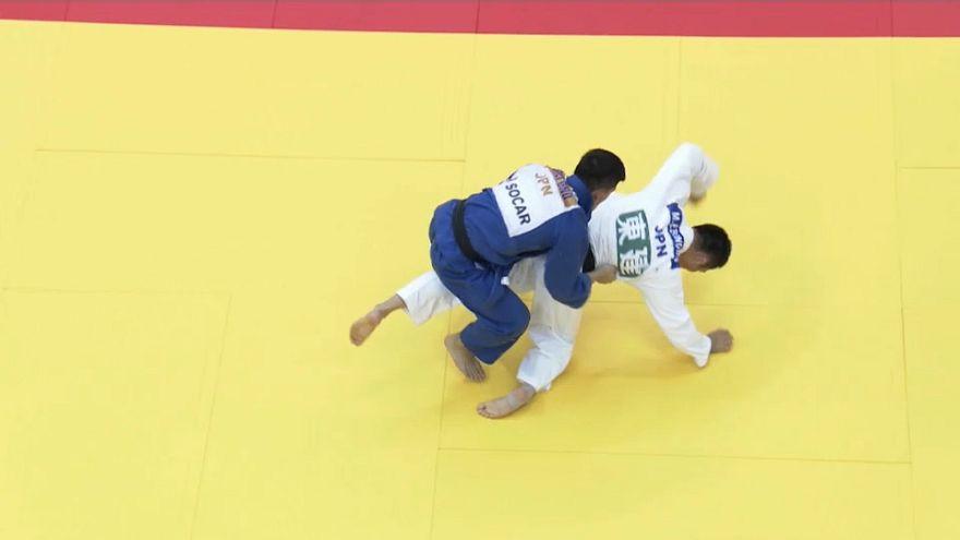 """الجيدو: اليابان يفوز بحصة الأسد في ثاني جولات بطولة """"غراند سلام"""" لأوساكا"""